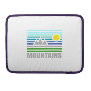 mountains sleeve for MacBook pro
