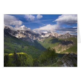 Mountains, Slovenia Card