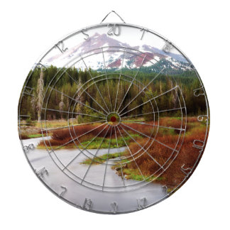 Mountains Snow Southwestern Frozen Winter Fall Dartboards