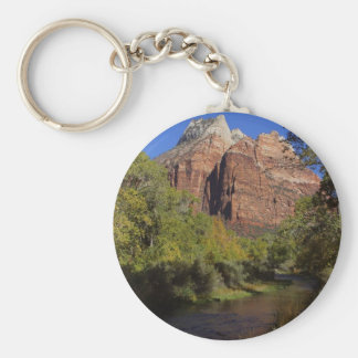 Mountains Streams Zion Key Ring
