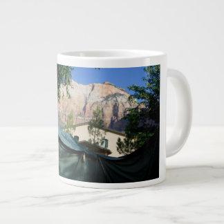 Mountains Tents Camping Mug Cup