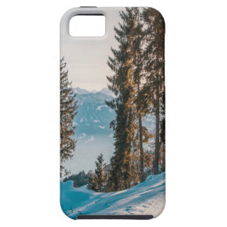 mountains trees and snow case for the iPhone 5