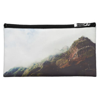 Mountains Wanderlust Adventure Nature Landscape Cosmetic Bag