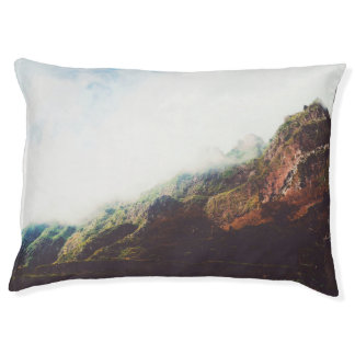 Mountains Wanderlust Adventure Nature Landscape Pet Bed