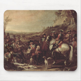 Mounted Dragoons of the King s Household 1737 oi Mousepad