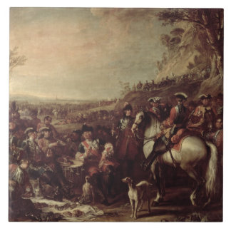 Mounted Dragoons of the King's Household, 1737 (oi Large Square Tile