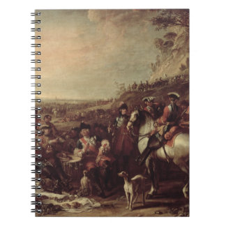 Mounted Dragoons of the King's Household, 1737 (oi Spiral Note Book