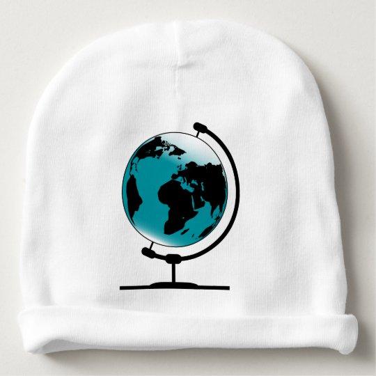 Mounted Globe On Rotating Swivel Baby Beanie