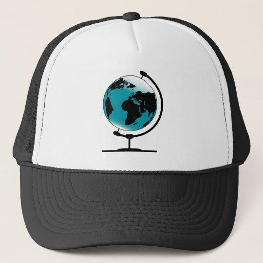 Mounted Globe On Rotating Swivel Cap