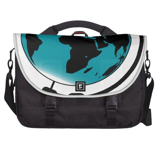Mounted Globe On Rotating Swivel Commuter Bags