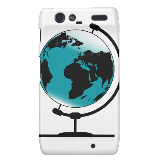 Mounted Globe On Rotating Swivel Droid RAZR Case