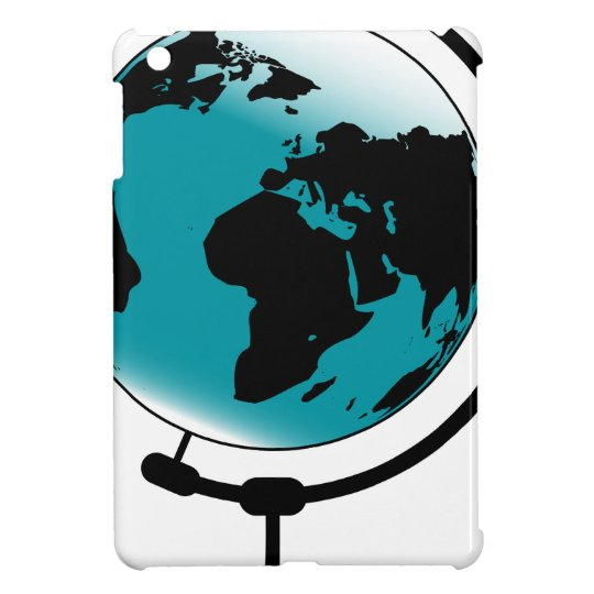 Mounted Globe On Rotating Swivel iPad Mini Cover
