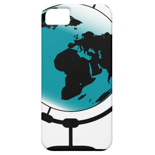 Mounted Globe On Rotating Swivel iPhone 5 Cover