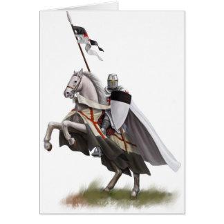 Mounted Knight Templar Card