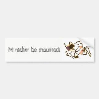 Mounted Sticker