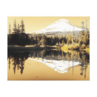 Mountian Lake Canvas Print