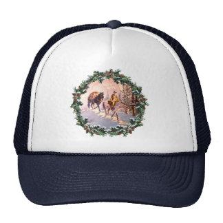 MOUNTIAN MAN & WREATH by SHARON SHARPE Hats