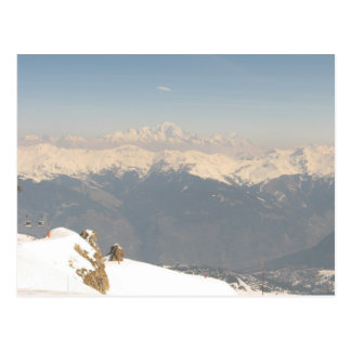 mountians postcard