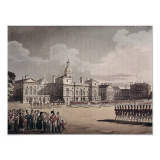 Mounting Guard at St. James's Park Poster