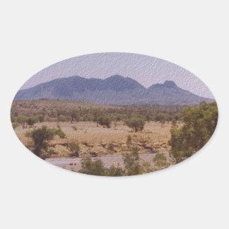 MountLiebig_NorthernTerritory JPG Sticker