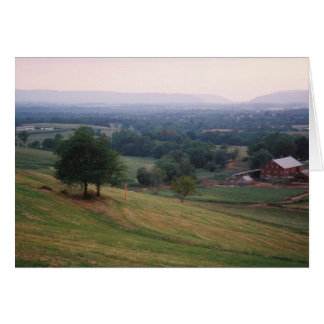 Mountville Pass, Middletown Valley... - Customized Card