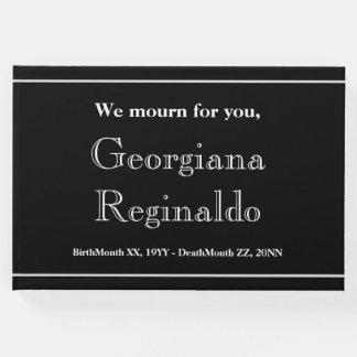 Mournful & Elegant Memories Guestbook