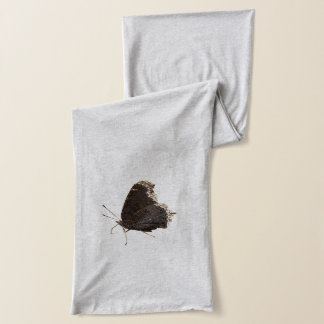 Mourning Cloak Butterfly ~ scarf