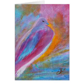 """Mourning Dove"" Art Card"