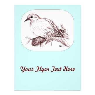 Mourning Dove Baby Flyer Design