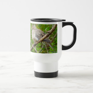 Mourning Dove Bird Travel Mug