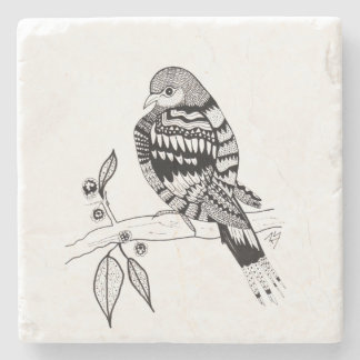 Mourning Dove Stone Coaster