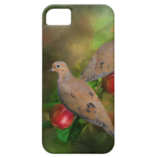 Mourning Doves on the Apple Tree - Painting Case For The iPhone 5