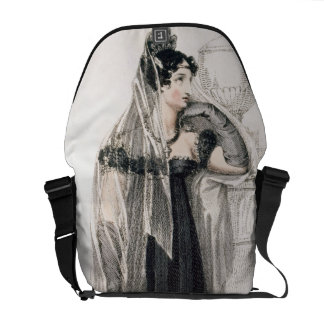 Mourning dress, fashion plate from Ackermann's Rep Messenger Bags