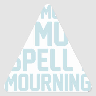 Mourning Triangle Sticker