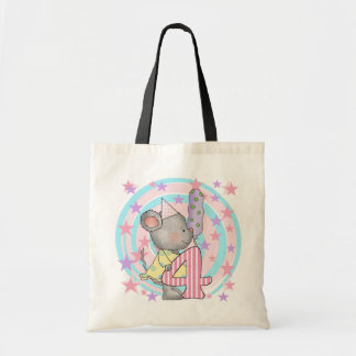 Mouse 4th birthday T-shirts and Gifts Tote Bag