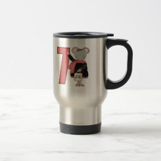 Mouse 7th Birthday Gifts Mugs