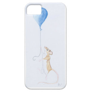 Mouse and Balloon, Watercolour Painting - iPhone 5 iPhone 5 Case