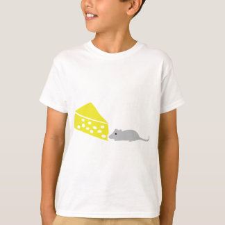 mouse and cheese icon T-Shirt