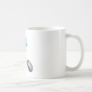 Mouse and social media icon concept mugs
