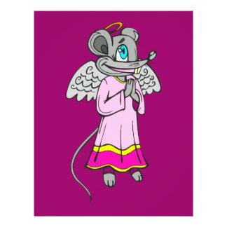 Mouse Angel 21.5 Cm X 28 Cm Flyer