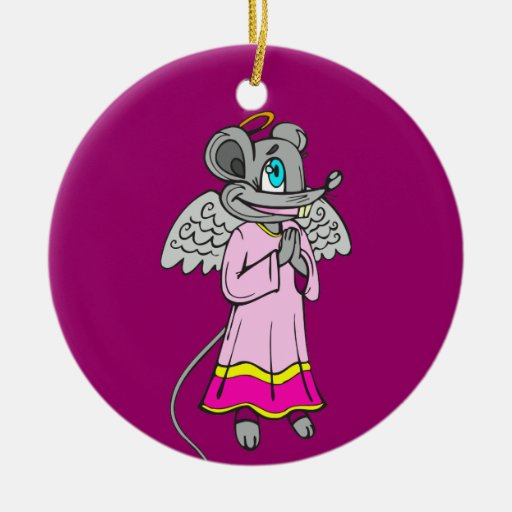 Mouse Angel Ornaments