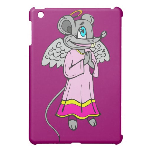 Mouse Angel iPad Mini Cases
