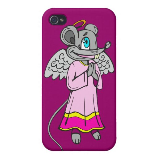 Mouse Angel iPhone 4/4S Case