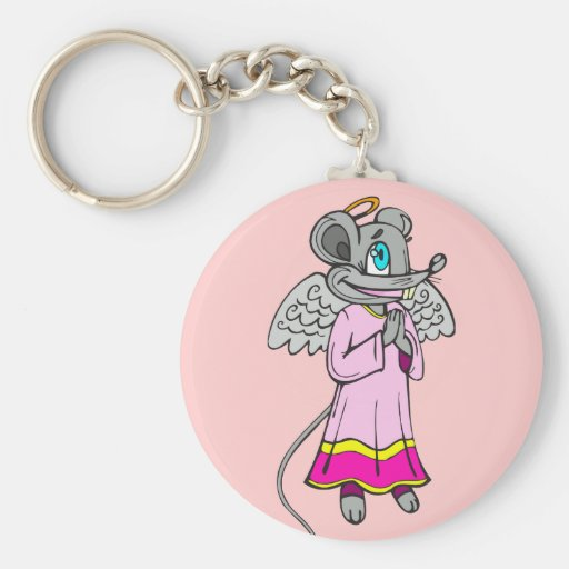 Mouse Angel Keychains
