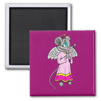 Mouse Angel Fridge Magnet