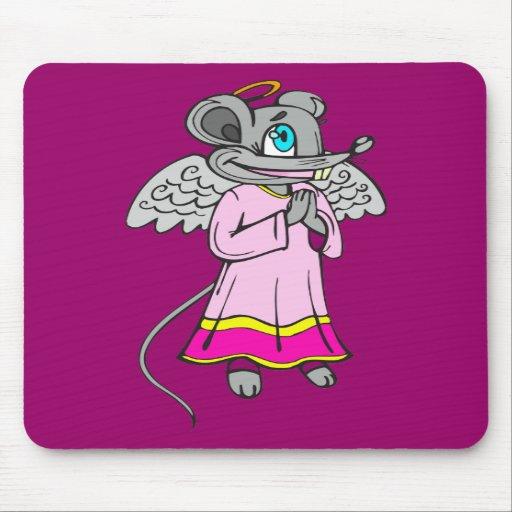 Mouse Angel Mousepads