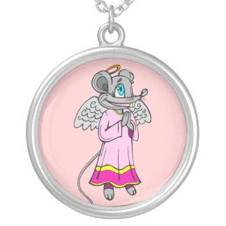 Mouse Angel Pendants