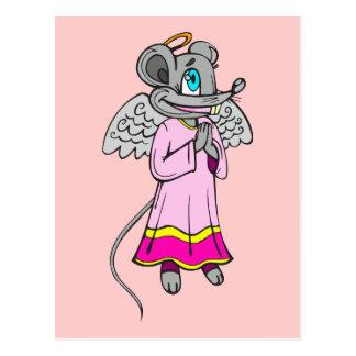 Mouse Angel Postcard