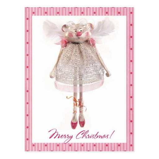 Mouse-angel Post Card