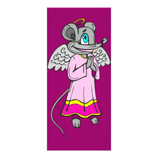 Mouse Angel Customized Rack Card